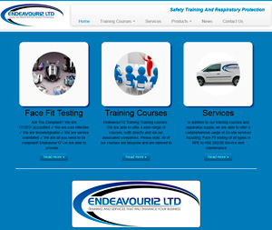endeavour12.com home page